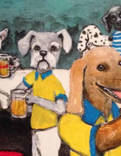 Animals at a Bar
