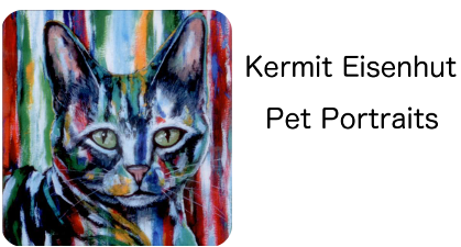 Dog Paintings | Cat Portraits | Pets | Custom, Hand Painted on Canvas